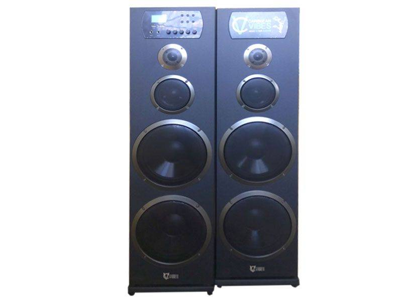 Caribbean Vibes Twin Party Speakers
