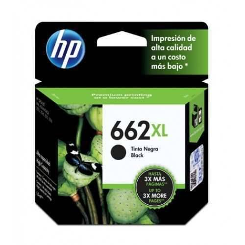 HPc CZ105AL 662XL Black Ink Cartridge 360 pages
