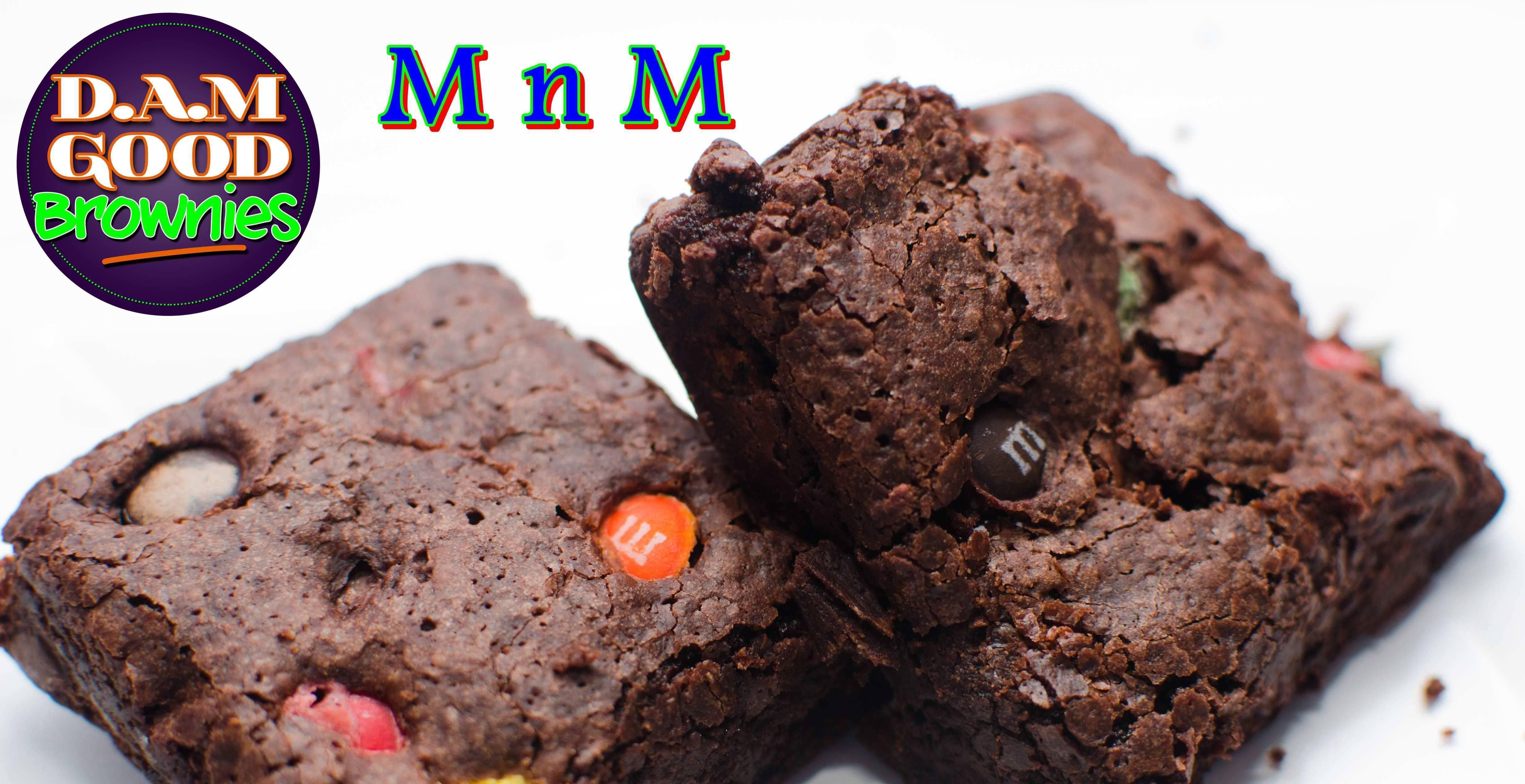 DAMGood MnM Brownies - 6pk