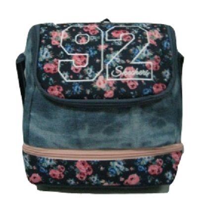 Skechers - Double Deck Denim/Print  Lunch Bag