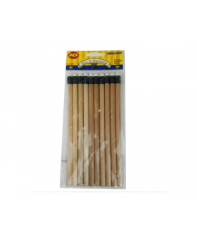 DesignWar 10 PK #2 Pencil Natural