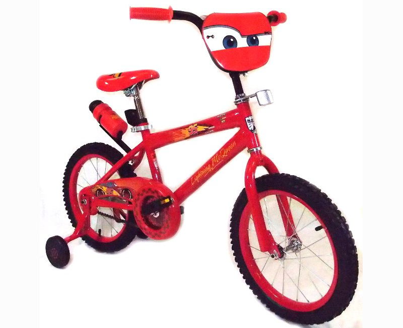 Disney Cars 4 16 Inch Black And Red Bicycle