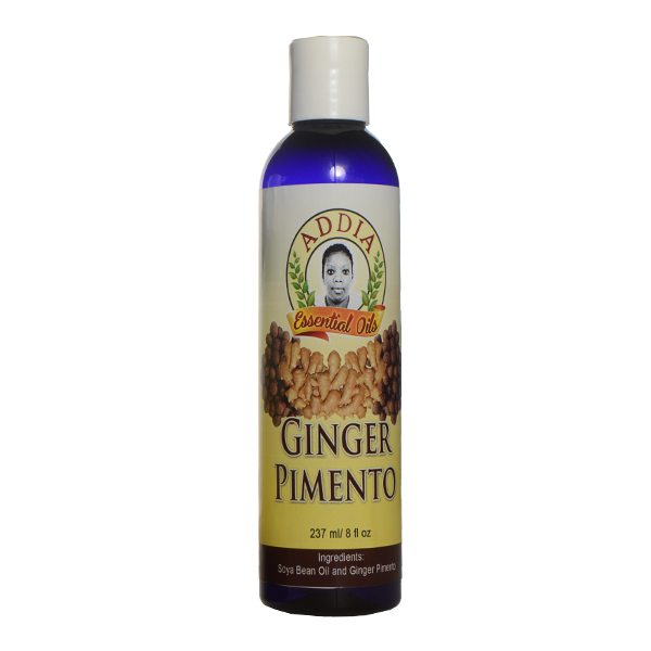 Addia Ginger Pimento Oil 4oz
