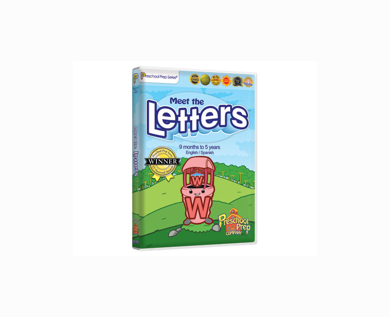 DVD - Meet the Letters