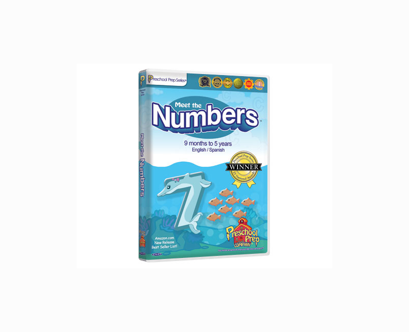 DVD - Meet the Numbers in the package