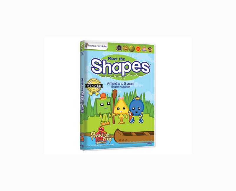 DVD - Meet the Shapes