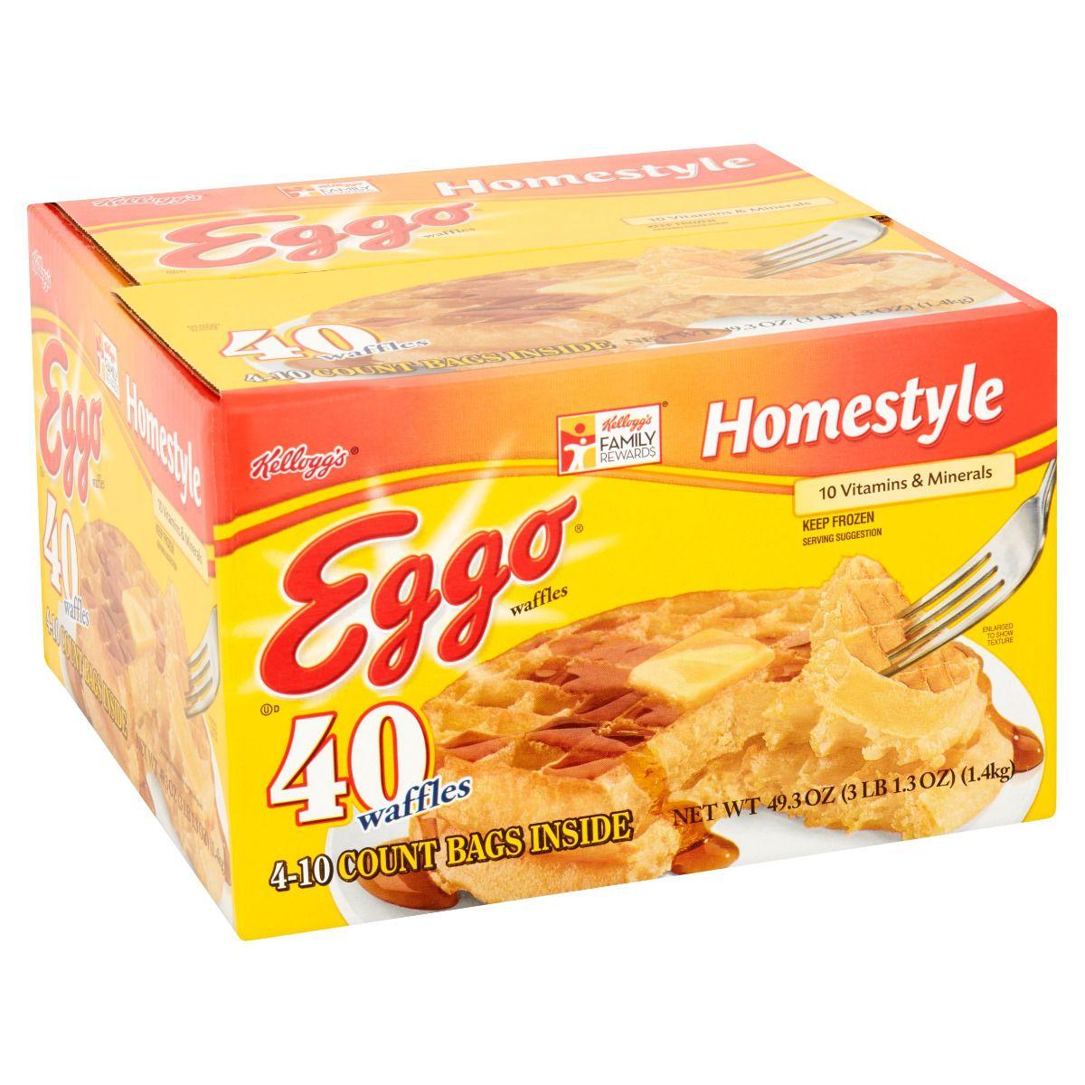 Kellogg's Eggo Waffles, 40ct