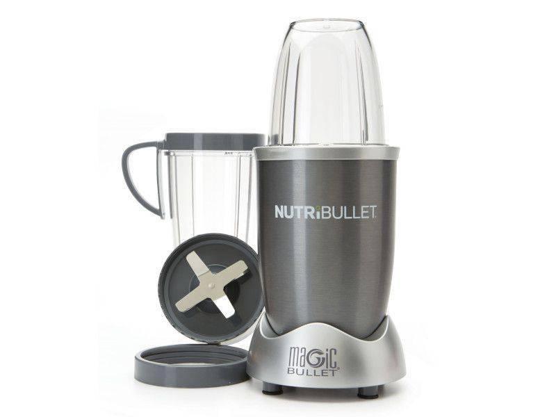 8-piece Grey Magic Nutribullet