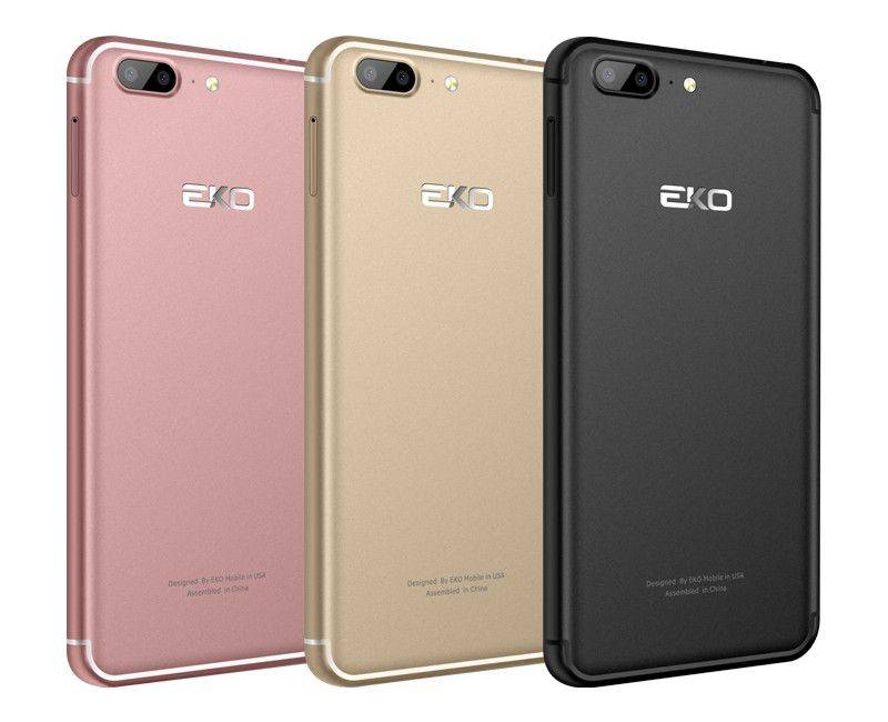 "Eko Omega LTE 5.5"" Dual Sim Unlocked Smartphone"