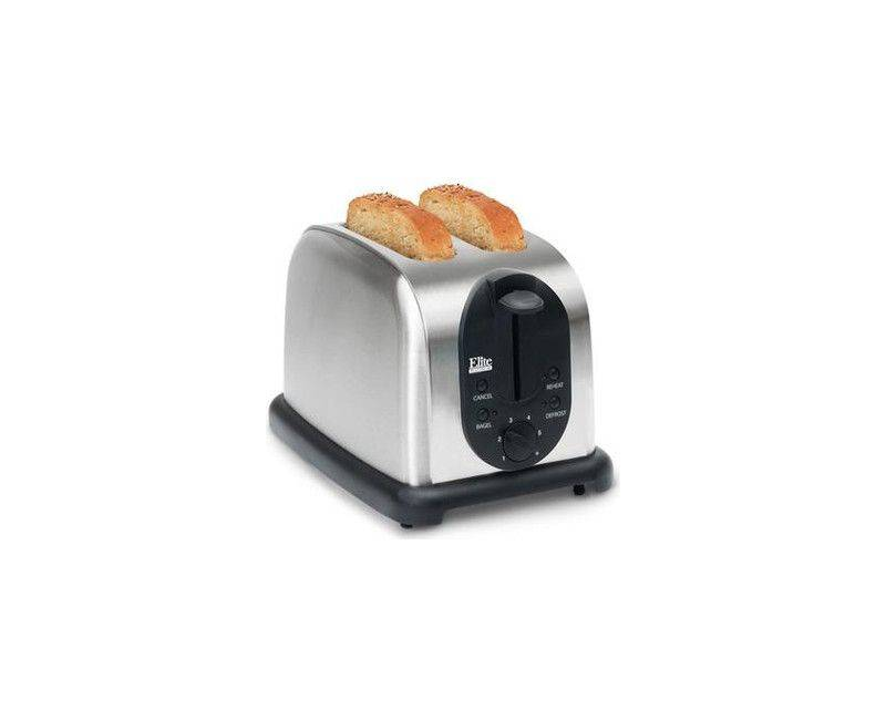 Elite Platinum by Maxi-Matic 2 slice extra wide slot toaster