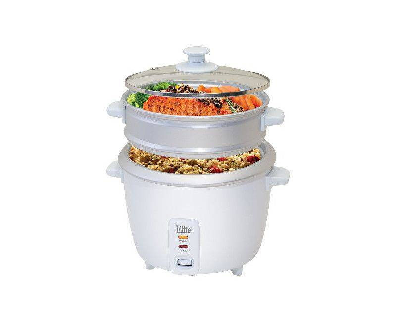 Elite Gourmet 16 cup rice cooker and food steamer