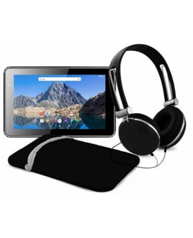 "Ematic 7"" Quad Core Tablet with Case & Headset"