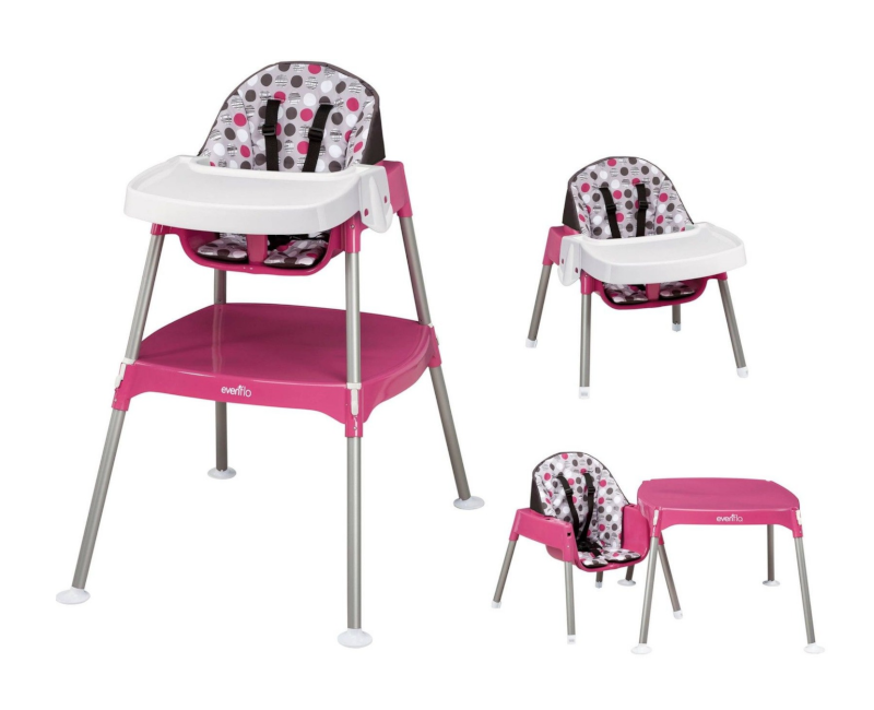 Evenflo 3-in-1 Convertible High Chair