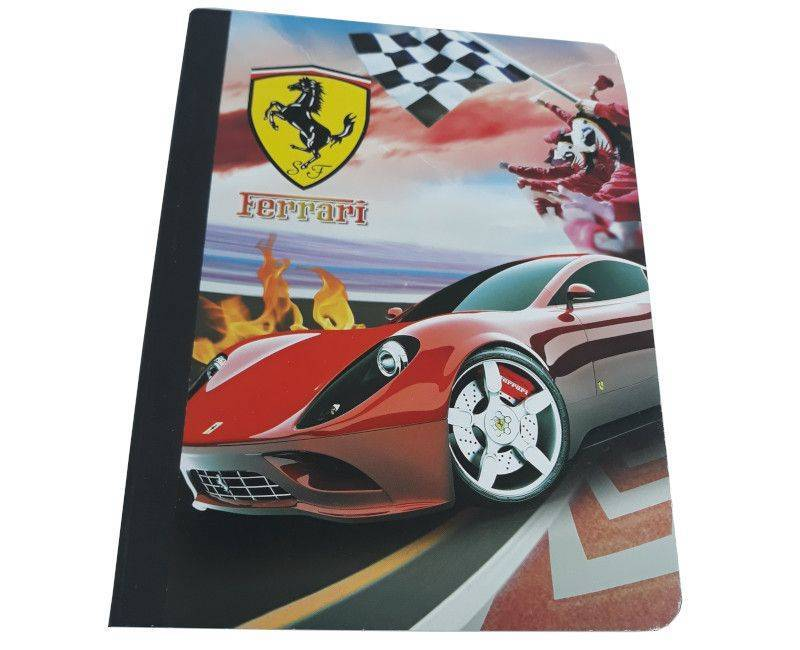 Ferrari 100 Sheets 5 Pack Composition Notebooks