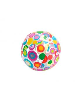 Intex Flower beach ball for ages 3 and up