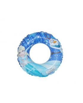 Frozen inflatable swim ring