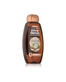 Garnier whole blends smoothing shampoo with coconut and cocoa butter extracts
