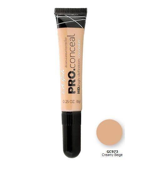 LA Girl Pro Concealer, Creamy Beige GC973