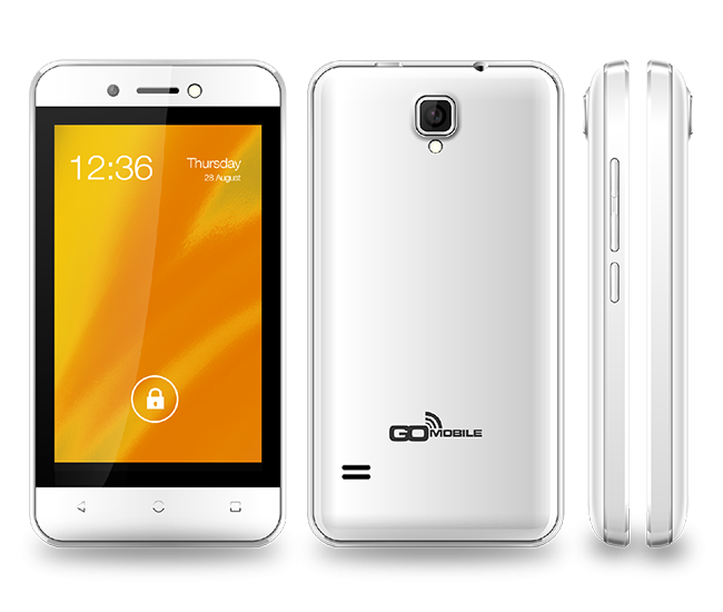 Go Mobile 1402 LTE Unlocked Smartphone in White