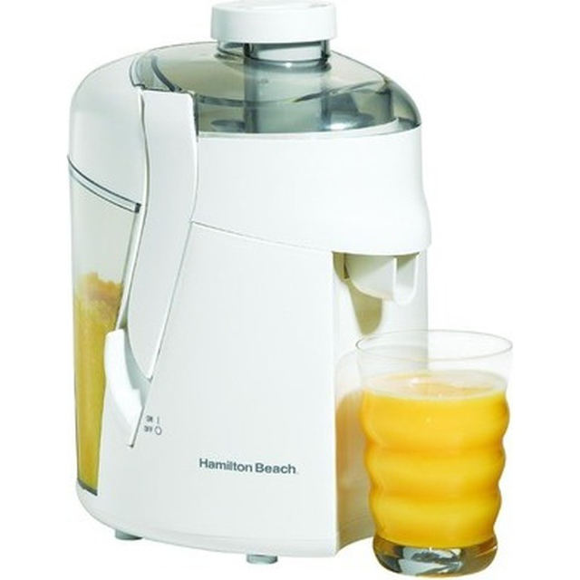 Hamilton Beach Health Smart White Juice Extractor 67800