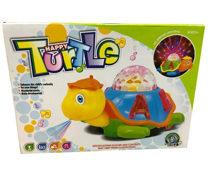 Happy Turtle 3D Dream Lighting for ages 3 and up