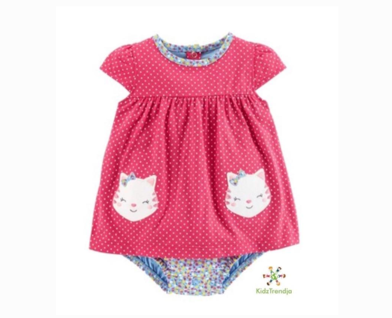 Hello Kitty Dress & Diaper Cover Set