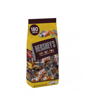 Hersheys Miniatures Chocolate Assortment 56 oz