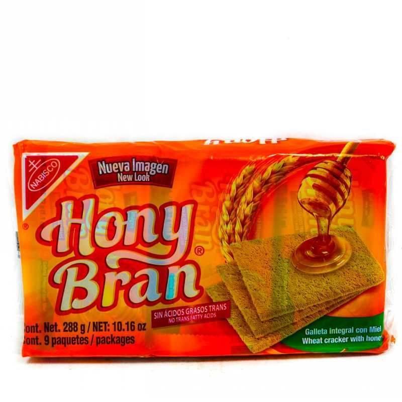 Honey Bran Crackers 2x288g
