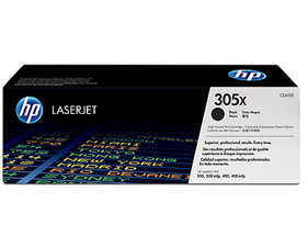 HP CE410X 305X Black LaserJet Toner Cartridge