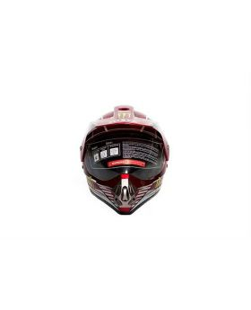 IBK Red Monster Energy Motorcycle Helmet