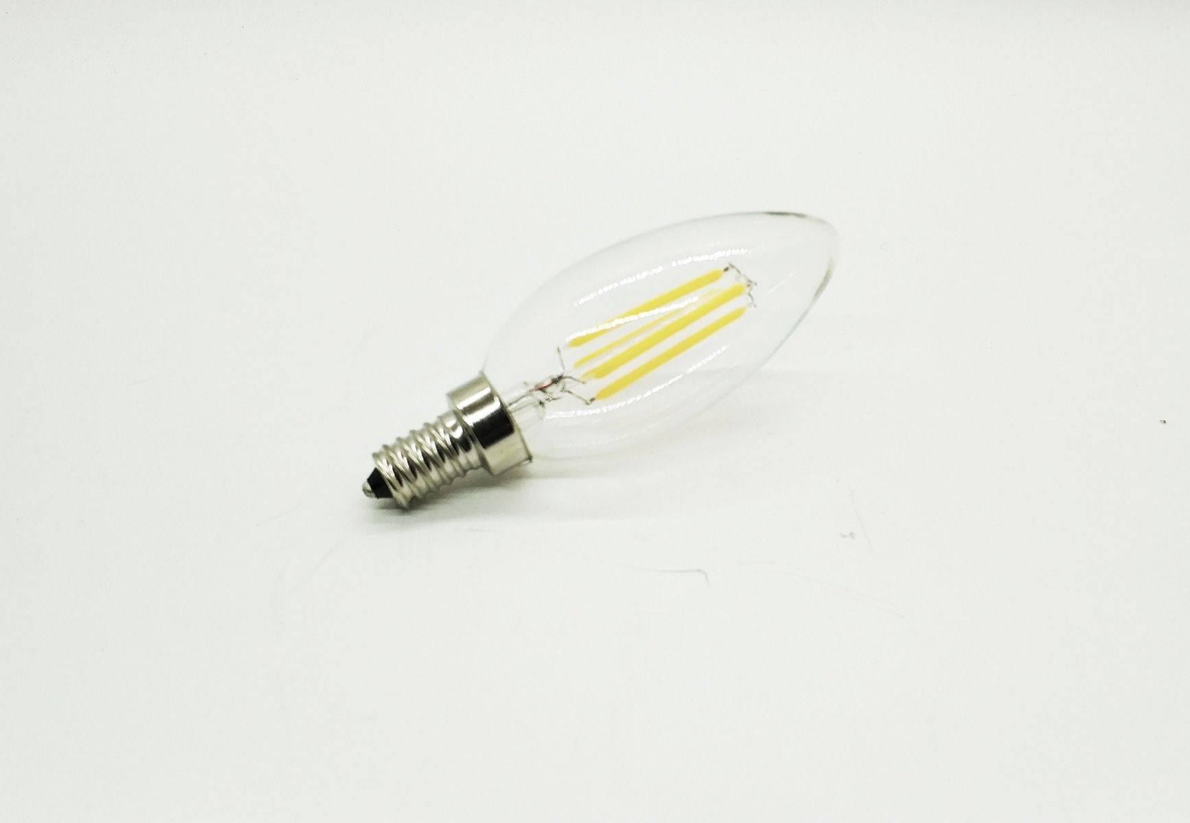 Ecolite®LED-0412WWDIM Filament Bulb