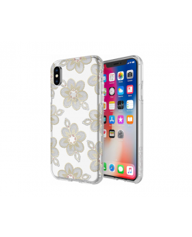 iPhone X/XS Cellphone Case by Incipio Gold on Phone