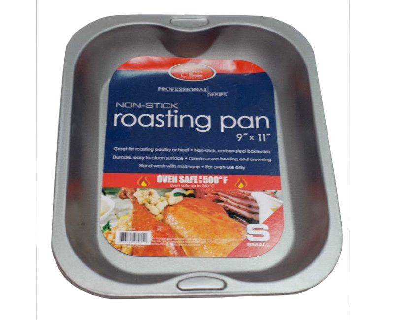 """Kennedy's Home Collection Professional Series Non-Stick Roasting Pan 9"""" x 11"""""""