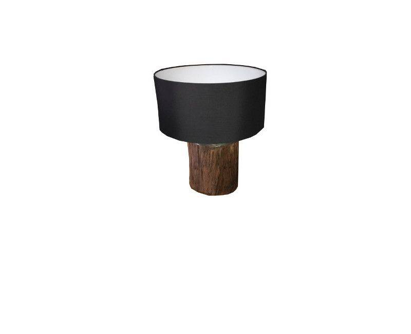 Kenyon Table lamp with black linen shade