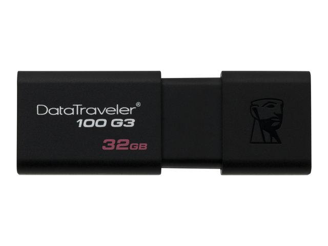 Kingston 32 GB DataTraveler 100 G3 USB Flash Drive