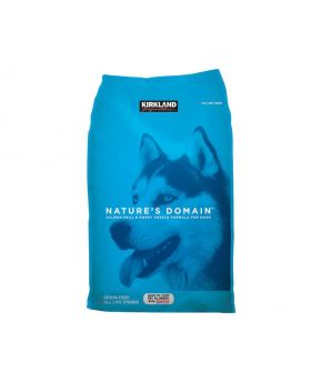 Kirkland Signature Nature's Domain Salmon Dog Food 35 lbs