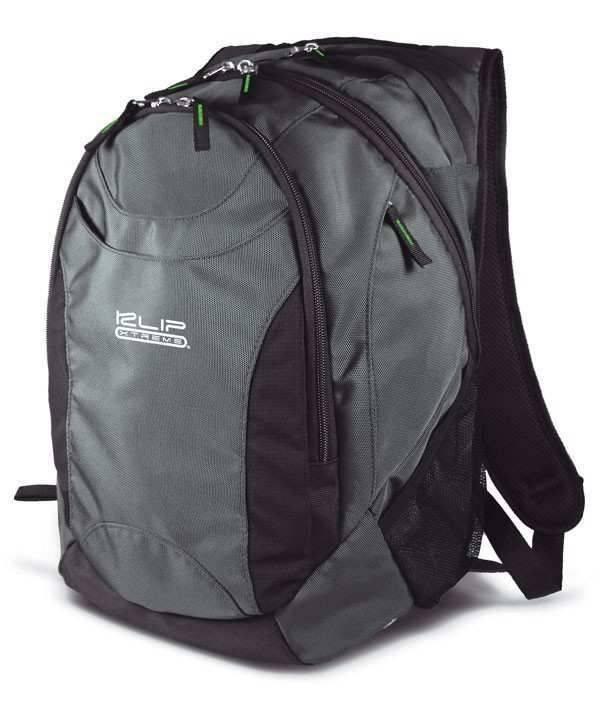 KlipX GreenStone Notebook Backpack 17' Grey/Blk (KNB-418) 6