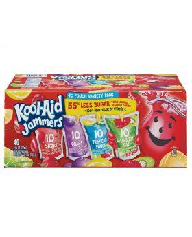 Kool Aid Jammers 6 Oz. Variety 40 Pack
