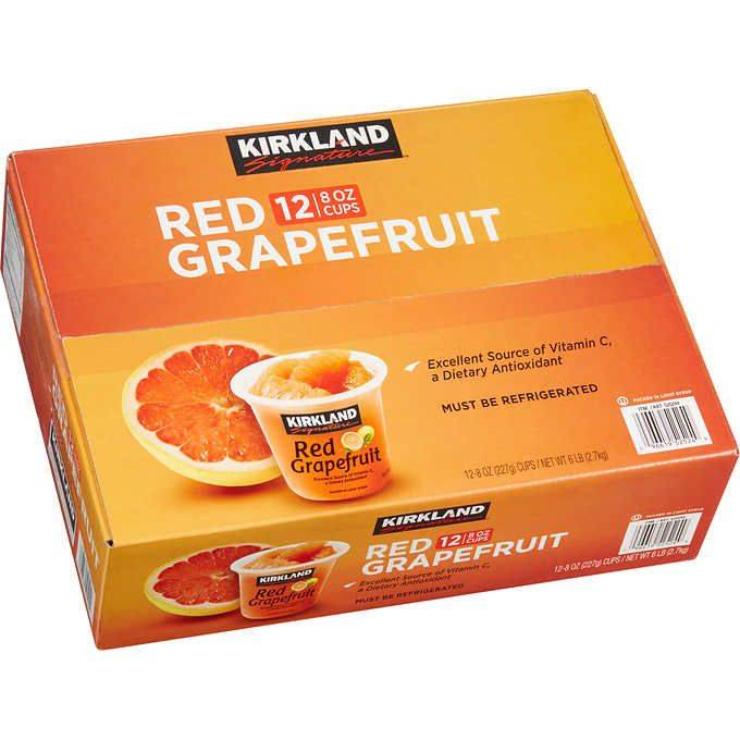 Kirkland Signature Red Grapefruit,12ct/8oz