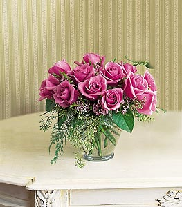 Lavender Roses Floral Arrangement