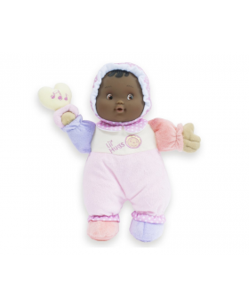 """Lil' Hugs 12"""" Baby's First Doll - African American"""