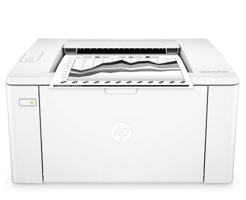 HP LaserJet Pro M102w Monochrome Printer