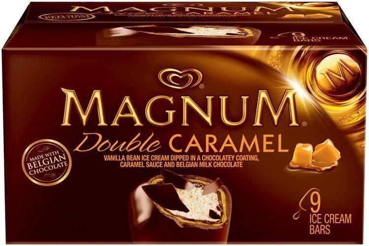 Magnum Double Caramel Ice Cream Bar, 9pk/3oz
