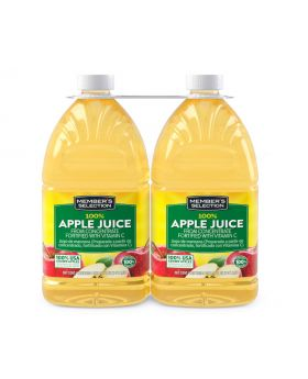 Member's Selection 100% Apple Juice 2 x 96oz