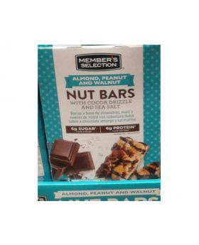 Member's Selection Chocolate Nut Bars 24 Count