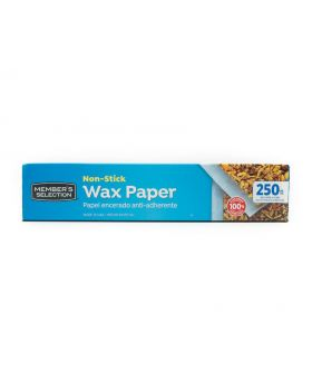 Member's Selection Non-Stick Wax Paper 250 Feet