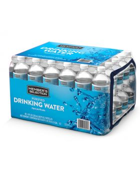 Member's Selection Purified Drinking Water 500ml 32 Count