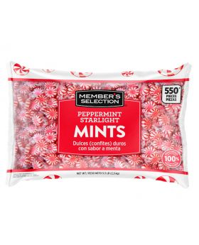 Member's Selection Peppermint Starlight Mints 5.5 lbs