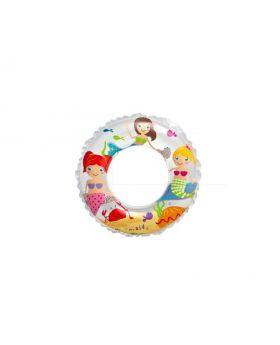 Mermaid inflatable swim ring