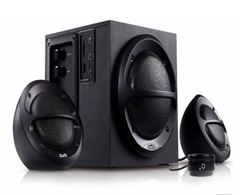 KlipX 2.1 KES-350 36W Stereo Speaker with USB SD Playback